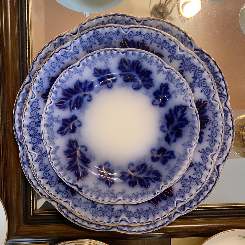 Netherlands Antique Dish オランダ製 アンティーク皿 3点セット