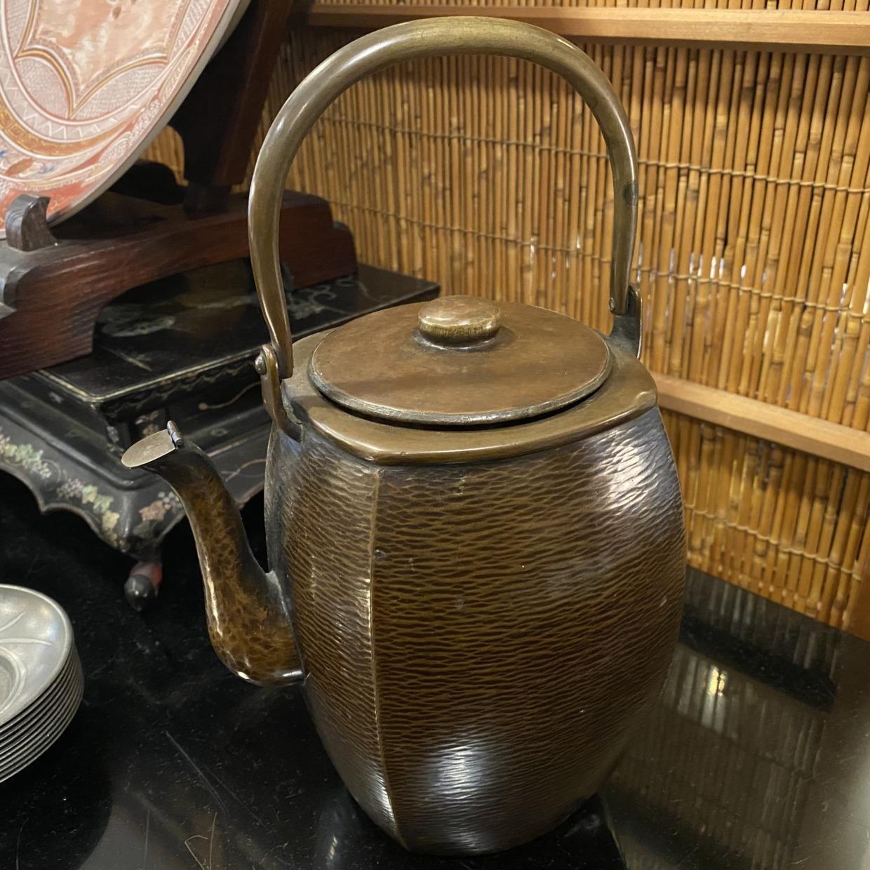 角型 水注 銅製