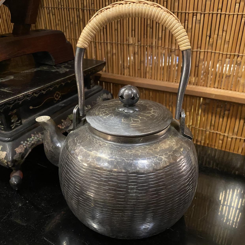 丸型 水注 白銅