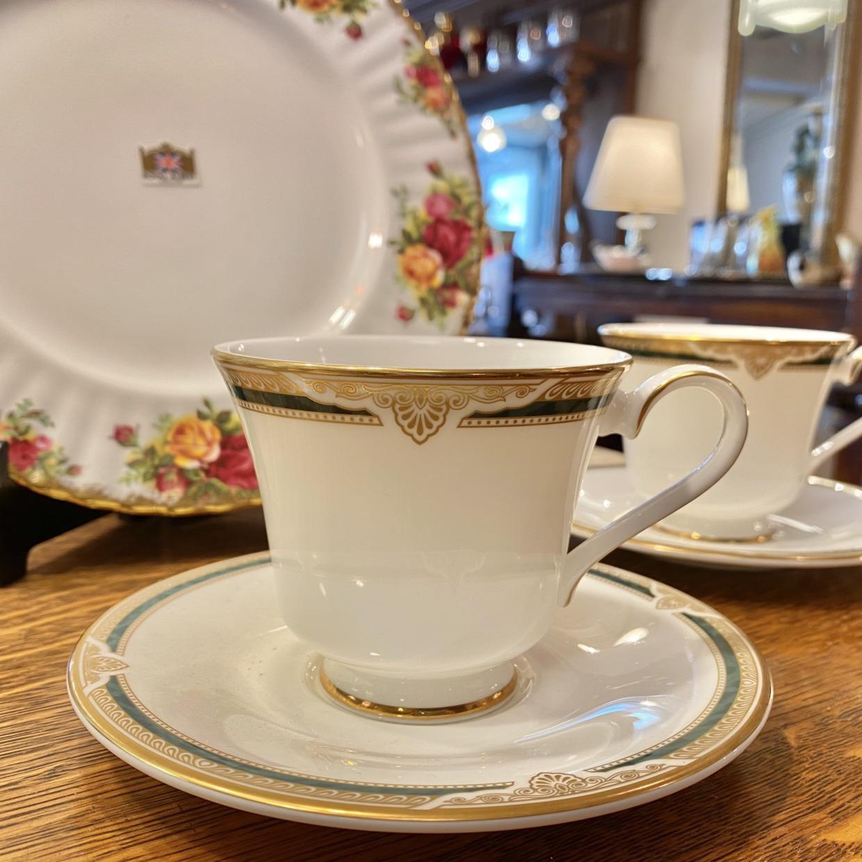 FORSYTH Royal Doulton コーヒーカップソーサー 2点セット