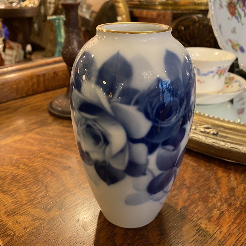 BLUE ROSE ブルーローズ 花瓶 (小) 大倉陶園