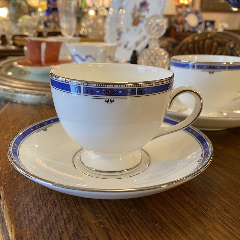 KINGS BRIDGE キングスブリッジ Wedgwood コーヒーカップソーサー