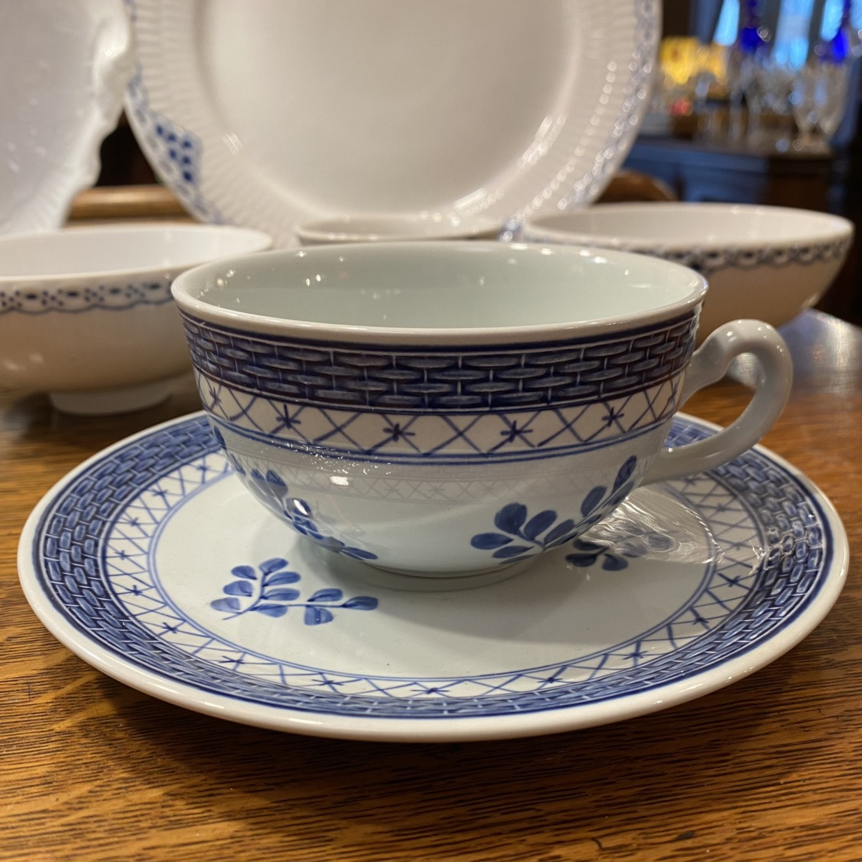 TRANQUEBAR-BLUE ロイヤルコペンハーゲン ティーカップソーサー